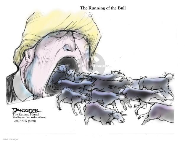 Cartoonist Jeff Danziger  Jeff Danziger's Editorial Cartoons 2017-01-08 president-elect