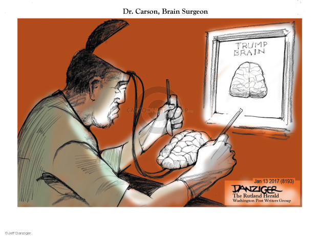 Cartoonist Jeff Danziger  Jeff Danziger's Editorial Cartoons 2017-01-13 president-elect