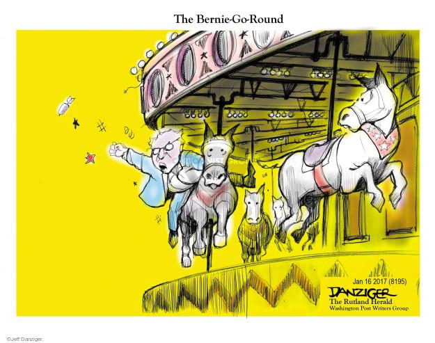Jeff Danziger  Jeff Danziger's Editorial Cartoons 2017-01-16 Bernie