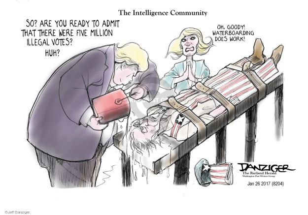 Cartoonist Jeff Danziger  Jeff Danziger's Editorial Cartoons 2017-01-27 ready