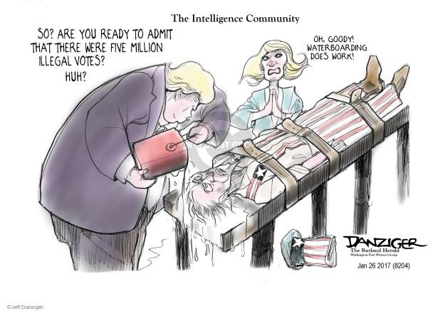 Jeff Danziger  Jeff Danziger's Editorial Cartoons 2017-01-27 voter fraud