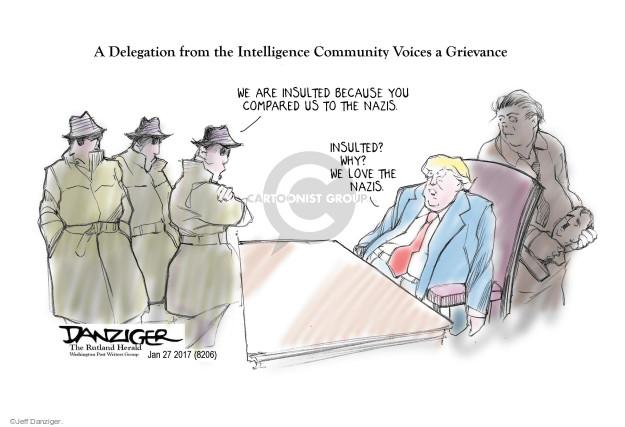 Jeff Danziger  Jeff Danziger's Editorial Cartoons 2017-01-30 strategist