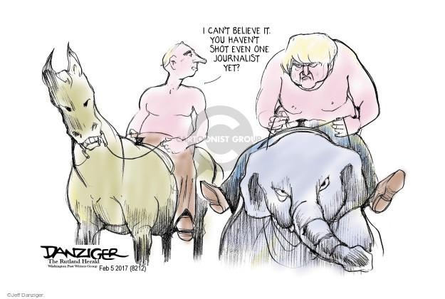 Jeff Danziger  Jeff Danziger's Editorial Cartoons 2017-02-06 yet