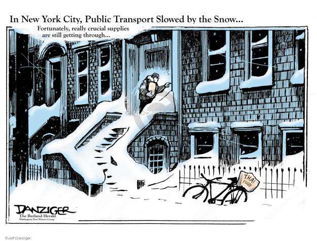 Cartoonist Jeff Danziger  Jeff Danziger's Editorial Cartoons 2017-02-13 city