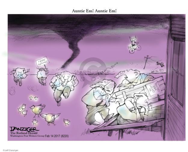 Cartoonist Jeff Danziger  Jeff Danziger's Editorial Cartoons 2017-02-17 general