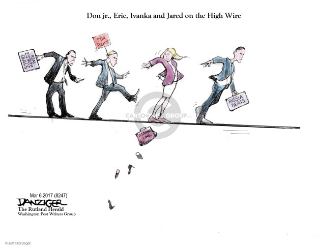 Jeff Danziger  Jeff Danziger's Editorial Cartoons 2017-03-09 real estate