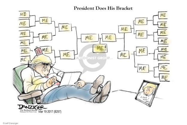 Cartoonist Jeff Danziger  Jeff Danziger's Editorial Cartoons 2017-03-19 spray
