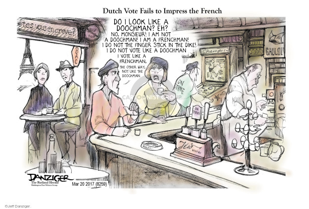 Cartoonist Jeff Danziger  Jeff Danziger's Editorial Cartoons 2017-03-21 do