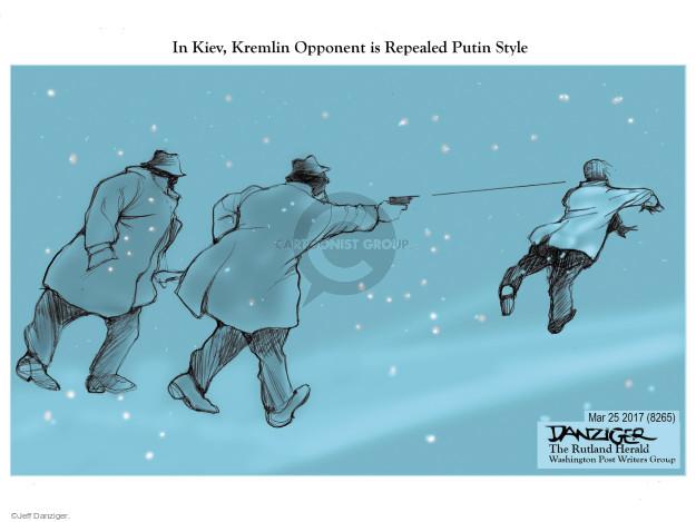 In Kiev, Kremlin Opponent is Repealed Putin Style.