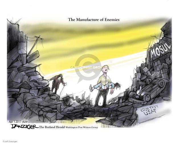 Cartoonist Jeff Danziger  Jeff Danziger's Editorial Cartoons 2017-04-02 United States Air Force