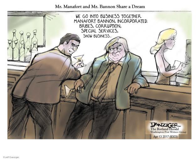 Jeff Danziger  Jeff Danziger's Editorial Cartoons 2017-04-15 strategist