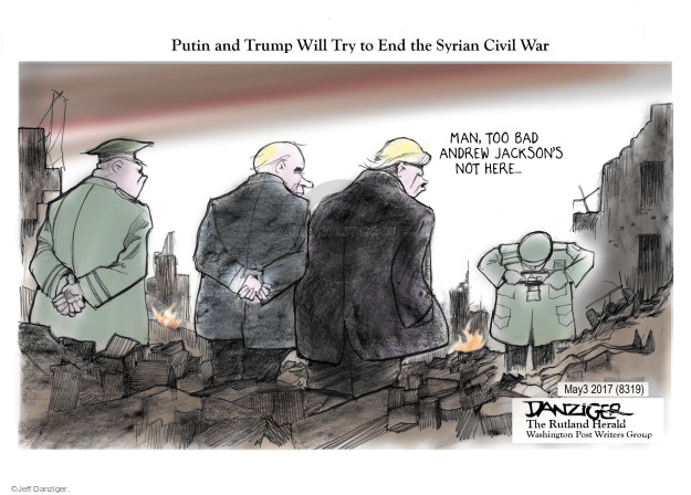 Jeff Danziger  Jeff Danziger's Editorial Cartoons 2017-05-04 United States