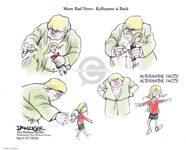 Cartoonist Jeff Danziger  Jeff Danziger's Editorial Cartoons 2017-05-11 fact