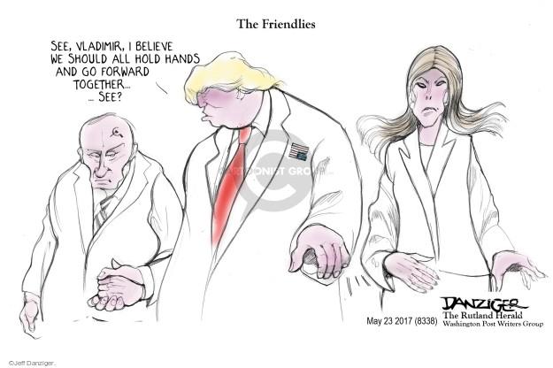 Cartoonist Jeff Danziger  Jeff Danziger's Editorial Cartoons 2017-05-25 hold