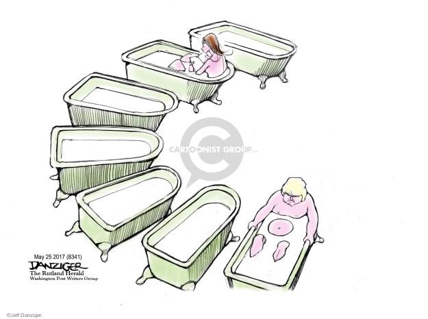 Jeff Danziger  Jeff Danziger's Editorial Cartoons 2017-05-28 caption