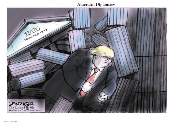 Cartoonist Jeff Danziger  Jeff Danziger's Editorial Cartoons 2017-05-29 Europe