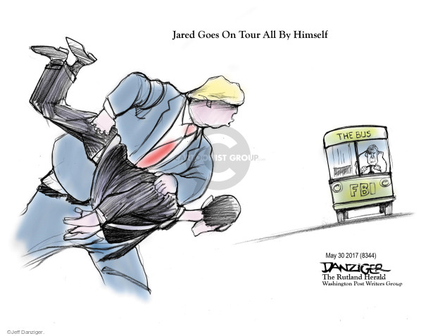 Jeff Danziger  Jeff Danziger's Editorial Cartoons 2017-05-31 United States