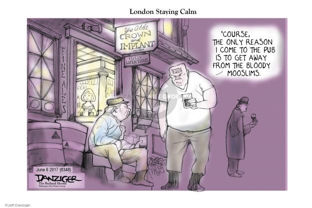 Cartoonist Jeff Danziger  Jeff Danziger's Editorial Cartoons 2017-06-06 bloody