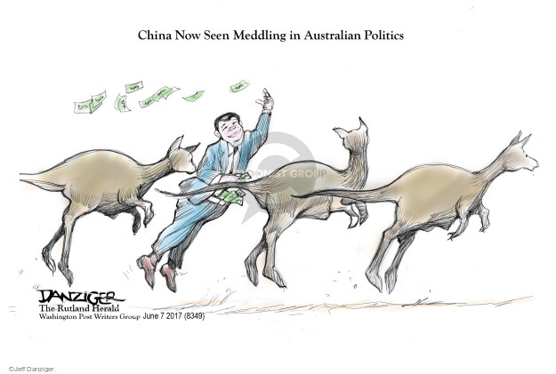 China Now Seen Meddling in Australian Politics.