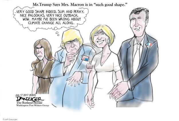 Jeff Danziger  Jeff Danziger's Editorial Cartoons 2017-07-18 United States
