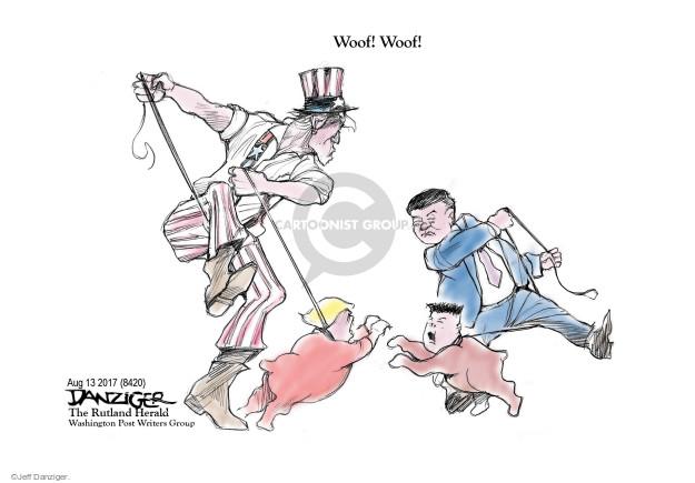 Cartoonist Jeff Danziger  Jeff Danziger's Editorial Cartoons 2017-08-14 international relations