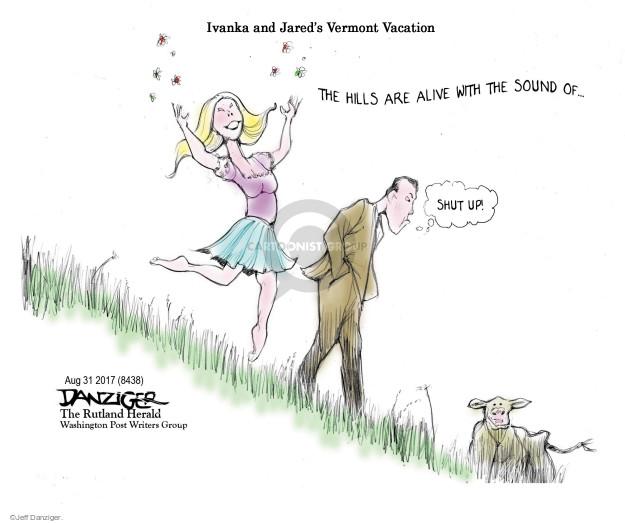 Jeff Danziger  Jeff Danziger's Editorial Cartoons 2017-08-31 vacation