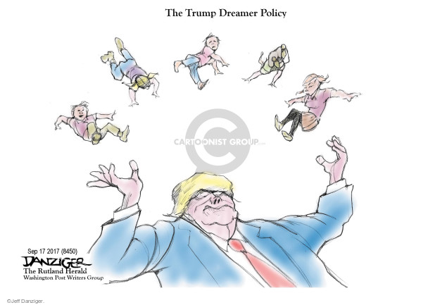 Jeff Danziger  Jeff Danziger's Editorial Cartoons 2017-09-17 juggle