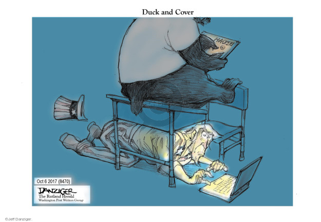 Cartoonist Jeff Danziger  Jeff Danziger's Editorial Cartoons 2017-10-07 international politics