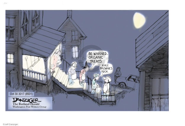 Cartoonist Jeff Danziger  Jeff Danziger's Editorial Cartoons 2017-10-29 Halloween