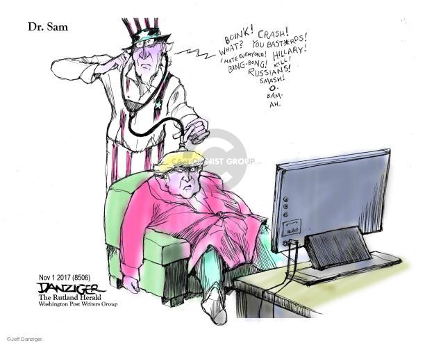 Jeff Danziger  Jeff Danziger's Editorial Cartoons 2017-11-03 Obama administration
