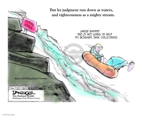 Cartoonist Jeff Danziger  Jeff Danziger's Editorial Cartoons 2017-12-04 investigate
