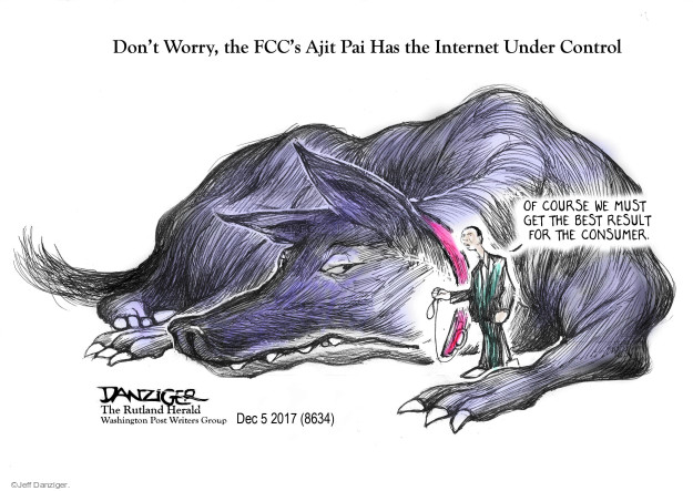 Dont Worry, the FCCs Ajit Pai Has the Internet Under Control. Of course we must get the best result for the consumer.