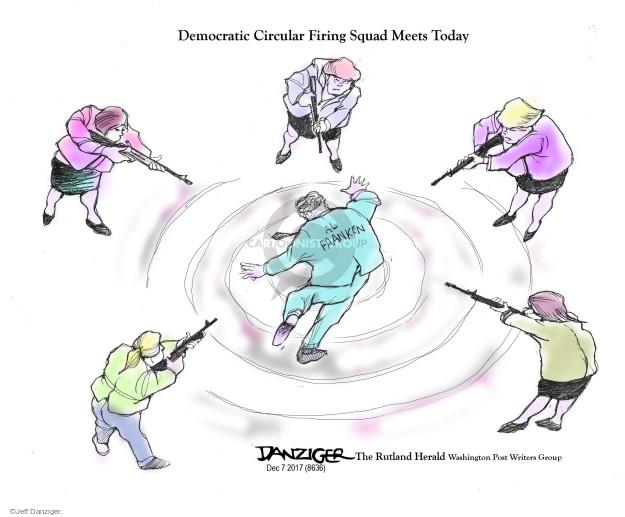 Cartoonist Jeff Danziger  Jeff Danziger's Editorial Cartoons 2017-12-10 charge