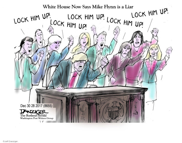 Jeff Danziger  Jeff Danziger's Editorial Cartoons 2017-12-30 white