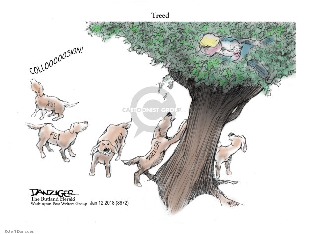 Cartoonist Jeff Danziger  Jeff Danziger's Editorial Cartoons 2018-01-16 Russian President