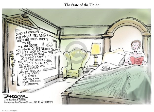 Cartoonist Jeff Danziger  Jeff Danziger's Editorial Cartoons 2018-02-02 investigate