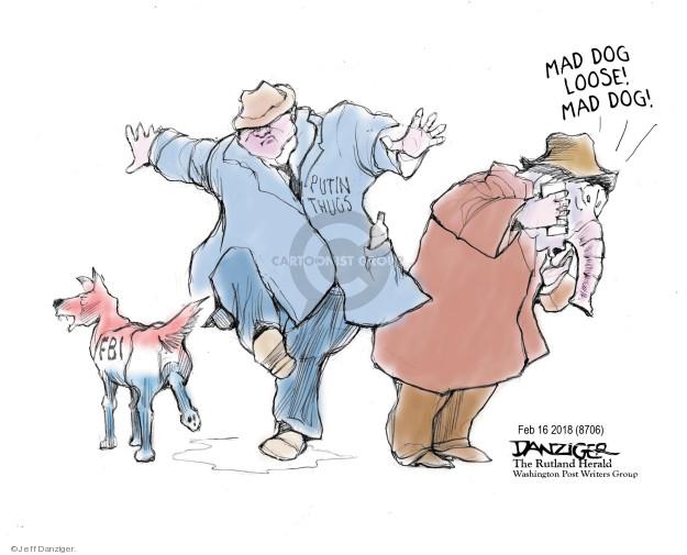 Cartoonist Jeff Danziger  Jeff Danziger's Editorial Cartoons 2018-02-17 campaign