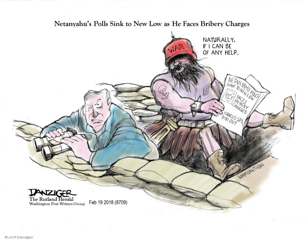 Cartoonist Jeff Danziger  Jeff Danziger's Editorial Cartoons 2018-02-20 international politics