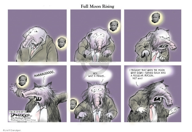 Cartoonist Jeff Danziger  Jeff Danziger's Editorial Cartoons 2018-02-26 conservatism
