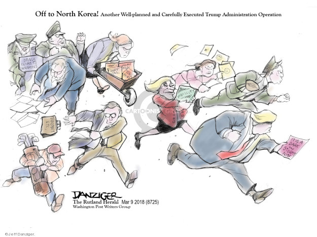 Jeff Danziger  Jeff Danziger's Editorial Cartoons 2018-03-11 United States