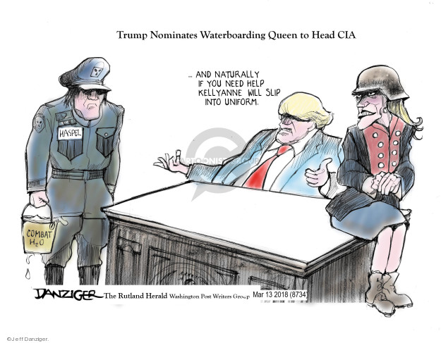 Cartoonist Jeff Danziger  Jeff Danziger's Editorial Cartoons 2018-03-16 director