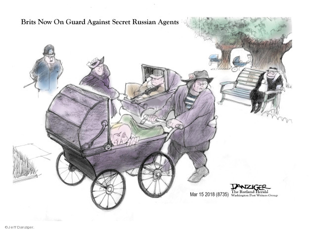 Cartoonist Jeff Danziger  Jeff Danziger's Editorial Cartoons 2018-03-17 international politics