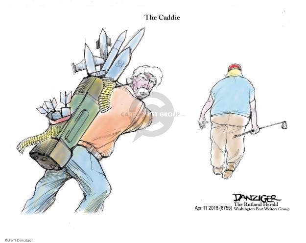 Cartoonist Jeff Danziger  Jeff Danziger's Editorial Cartoons 2018-04-12 John