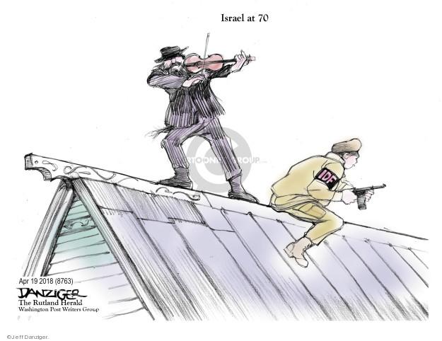 Jeff Danziger  Jeff Danziger's Editorial Cartoons 2018-04-20 Israel