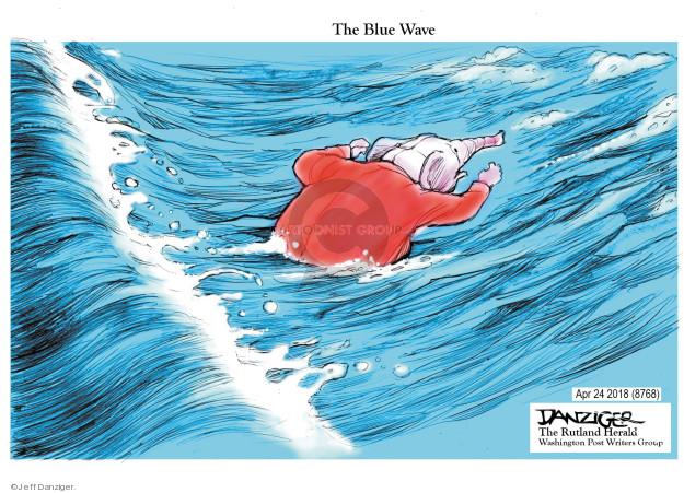 Cartoonist Jeff Danziger  Jeff Danziger's Editorial Cartoons 2018-04-26 republican democrat