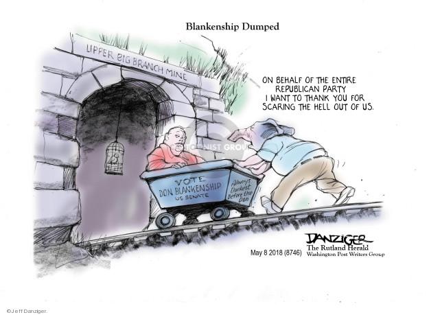 Jeff Danziger  Jeff Danziger's Editorial Cartoons 2018-05-08 United States
