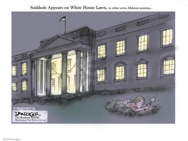 Cartoonist Jeff Danziger  Jeff Danziger's Editorial Cartoons 2018-05-29 lady