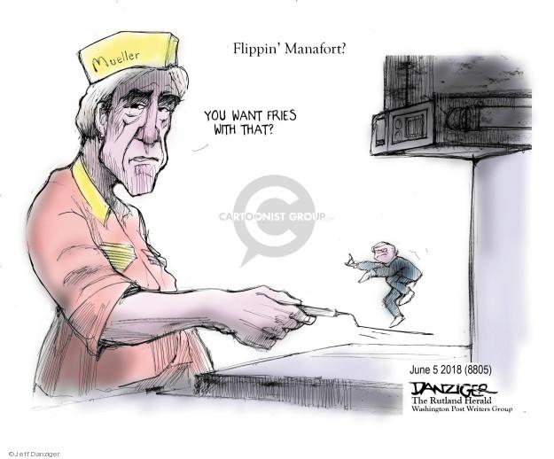 Jeff Danziger  Jeff Danziger's Editorial Cartoons 2018-06-07 Trump administration