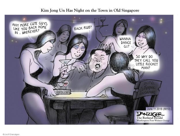 Cartoonist Jeff Danziger  Jeff Danziger's Editorial Cartoons 2018-06-11 home