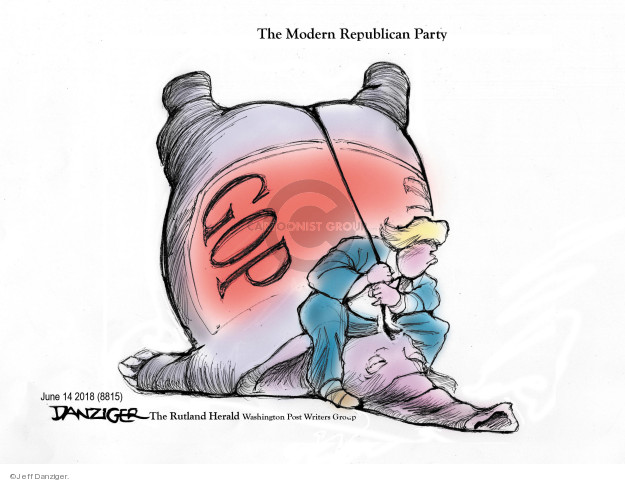 Cartoonist Jeff Danziger  Jeff Danziger's Editorial Cartoons 2018-06-16 conservatism
